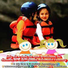 Feliz #DiaDelNiño les deseamos a todos los #pequeños #aventureros http://www.veracruztour.com/pescados.htm #RioPescados #Jalcomulco #Veracruz #aventura