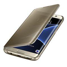 luxo+claro+espelho+de+vista+aleta+tampa+da+caixa+inteligente+para+Samsung+Galaxy+S7+edge+/+S7+/+S6+borda+plus+/+borda+S6+/+S6+(cores+–+BRL+R$+45,68