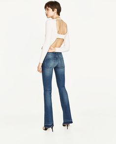 JEANS THE SKINNY FLARE-Ver Todo-JEANS-MUJER  dfe7a65bd364