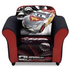 Disney Pixar Cars, Disney Cars Room, Modern Kids Chairs, Personalized Kids Chair, Bean Bag Lounger, Car Bedroom, Go To Walmart, Delta Children, Kids Furniture