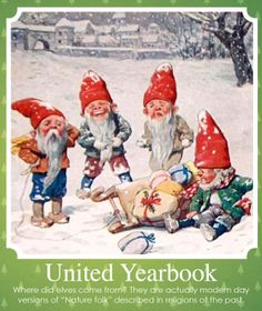 Enjoy another Holiday fun fact, as we continue to count down the days until Christmas!  The elves we know today belong to Santa and help make and get all the presents ready for delivery on Christmas. But do you Ever wonder where the idea of elves came from?