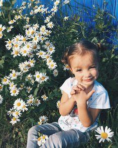 Lovely Nastya & Lawn Daisy  Joyful Summer Time ⛅️ Romashki , Leningrad Oblast_Jun 15 - 2016.