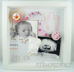 Baby Shadow Box - Emily Alena