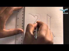 الخط الكوفي - YouTube