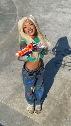 Baddie Outfits Casual, Dope Outfits, Retro Outfits, Girl Outfits, Fashion Outfits, Fashion Ideas, Black Girl Aesthetic, Aesthetic Fashion, Aesthetic Clothes