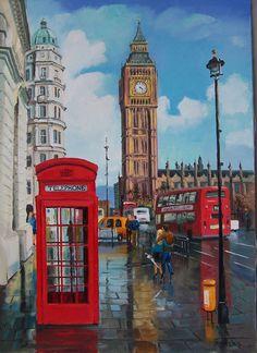 Лондонским Биг-Беном принято называть башню с часами и колоколами, которая относится к части Вестминстерского дворца. Изначально, это имя носил один из колоколов - самый массивный, его вес превышает 13 тонн.