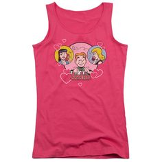 Archie Comics: Two Is Better Junior Tank Top