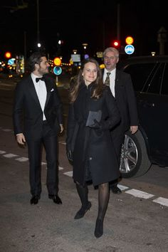 Prince Carl Philip of Sweden and Princess Sofia of Sweden attended a charity dinner in honor of Project Playground on November 26, 2015 in Stockholm, Sweden.