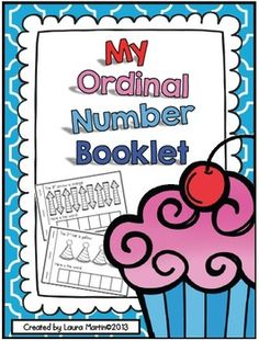 My Ordinal Numbers-An Interactive Math Booklet