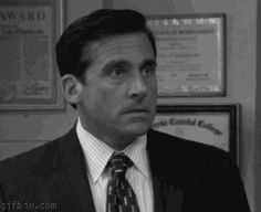The 30 Best Michael Scott GIFs from GifGuide - Michael Scott screaming No, a classic