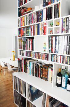 Bookshelves, custom bookcase - handmade by Designermade Norway Bookshelves, Bookcase, Norway, Home Office, Relax, Handmade, House, Home Decor, Interiors