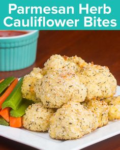 INGREDIENTS1 large head of cauliflower½ cup panko½ cup parmesan½ teaspoon salt½ teaspoon rosemary, minced½ teaspoon oregano, minced½ teaspoon thyme, minced½ teaspoon basil, minced2 eggsPREPARATION1. Preheat oven to 400˚F/200˚C.2. Break the head of cauliflower into bite-sized florets.3. In a large bowl, combine panko, parmesan, salt and herbs.4. In a small bowl, whisk the eggs. 5. Coat each floret in egg, then the parmesan-herb mixture and place on a parchment-lined baking sheet. 6. Bake for…