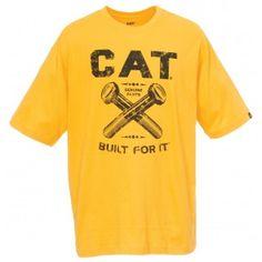 Bolt Tee Caterpillar  T-shirt, #caterpillar #cat #tshirt #men #women #construction #catapparel #forsale #hot #shirt