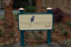 Loving our new sign for The Indigo spa! Have you had your first Indigo #spa experience, yet?