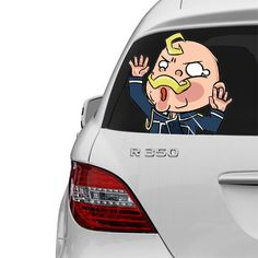 SIZE The TRAPPED SERIES Car Decals have 3 different sizes to choose from. Length varies between the characters. SIZES INCHES (WIDTH) CM (WIDTH) SMALL 7.87 inche