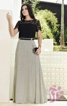 Maxi Outfits, Modest Outfits, Modest Fashion, Hijab Fashion, Chic Outfits, Fashion Dresses, Blouse And Skirt, Dress Skirt, Western Dresses