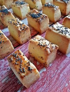 Retrománia: vágott sós, az örök sláger - Mom With Five Hungarian Desserts, Hungarian Recipes, Bread Recipes, Cookie Recipes, Small Cake, Snacks, Confectionery, Whoopie Pies, Bakery