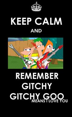I Love You, keep calm and phineas and ferb image on We Heart It Disney Xd, Disney Memes, Disney And Dreamworks, Disney Love, Disney Pixar, Disney Stuff, Best Cartoons Ever, Cool Cartoons, Phineas And Ferb Memes