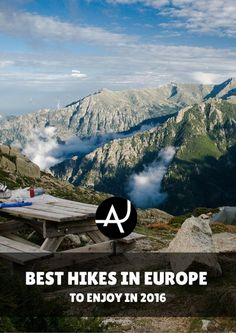 The Top 15 Best Hikes in Europe – Best Hiking Destinations – Hiking Bucket List – Beautiful Backpacking Places To Go On Vacation Camping Europe, Backpacking Europe, Traveling Europe, Travelling, Hiking Routes, Hiking Tips, Trekking, Road Trip, All Nature