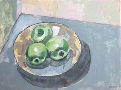 Still Life with Apples – oil on canvas – x The Quiet Miracle, Michael Krief Gallery, Solana Beach, California – 12 June to 3 July 2019 – Lizza Littlewort Still Life With Apples, Solana Beach, Oil On Canvas, June, African, California, Gallery, Artist, Painting