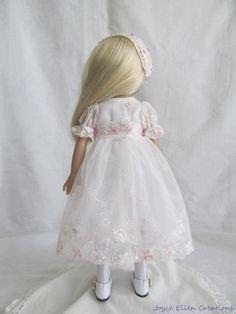 "13"" Effner Little Darling BJD fashion soft pink lace dress OOAK handmade by JEC   Dolls & Bears, Dolls, Clothes & Accessories   eBay!"