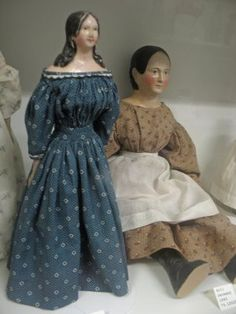 sampling of papier mache dolls
