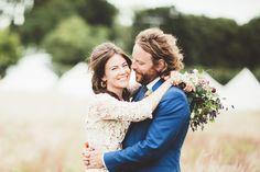 Brautkleid aus Häkelspitze