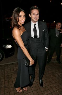 Frank Lampard (Manchester City) & Christine Bleakley Football Wags, Christine Bleakley, Famous Couples, Manchester City, Well Dressed, Hair Inspiration, Love Her, British, Icons