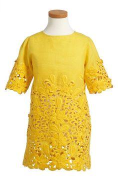 Stella McCartney Kids 'Harper' Cotton Dress (Big Girls) available at #Nordstrom