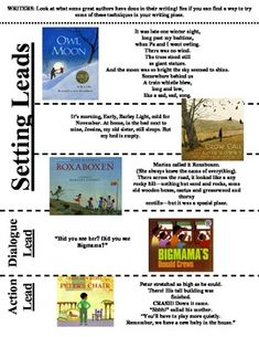 Writer's Workshop: Narrative Mentor Leads student copy