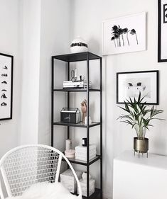 Another dust collector added to the shelves- our wedding card box filled with the - IKEA White Apartment, Apartment Living, Ikea Studio Apartment, Studio Apartment Organization, Decorate Apartment, Apartment Goals, Apartment Ideas, Ikea Living Room, Black Living Room Furniture