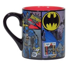Batman Comic Panel Mug