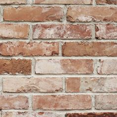 Graham & Brown Superfresco Red Brick Wallpaper | Departments | DIY at B&Q
