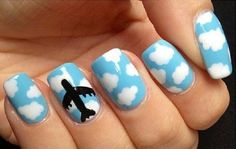 Airplane Nails