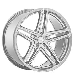 """20"""" Staggered Vossen Wheels VFS5 Silver Metallic Rims from AudioCityUSA.com #Wheel & #Tire Specialists since 1989 #AudioCityUSA #wheelsbyAudioCity #wheels #tires #rims #rim #car #cars #trucks #exotic #import #luxury #muscle #offroad"""