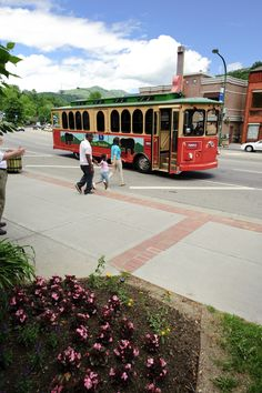 You can now hop aboard the Gatlinburg Trolleys all day long for just two dollars a day.