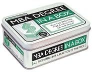 MBA Degree in a Box: All the Prestige for a Fraction of the Price (Books)  $11.96