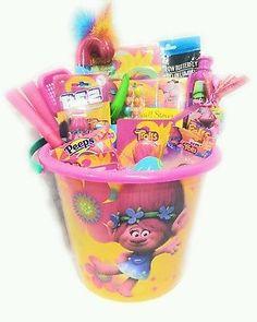Mattel Barbie Plush Pink Gift Basket Easter Halloween Tote NWT