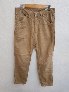 Vintage 90s Journal Standard Japanese Cargo Works Wear Trouser Cargo Pants Size 31 Cargo Pants, Khaki Pants, Denim Jeans, Thighs, Trousers, Japanese, Journal, How To Wear, Vintage