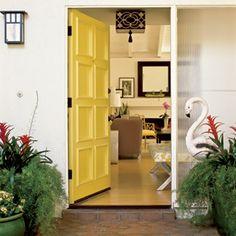 22 Creative Room Makeovers | A Bright Welcome | CoastalLiving.com