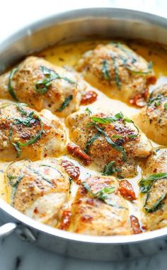 Low FODMAP and Gluten Free Recipes - French-style chicken with bacon