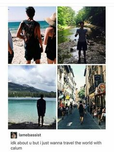 I just wanna date him and then we'll fall in love with each other...I mean what....yeah...travel the world...of course...