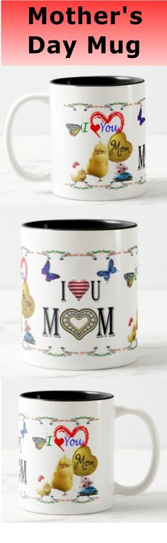 Mothers day gift from kids - Mom Mug Mothers day gift from kids - Mom Mug Are you looking for mothers day gifts? Then your search is over. Take a look at this beautiful funny I LOVE YOU MOM mug! I Love You Mom, My Love, Mother's Day Mugs, Diy Mothers Day Gifts, Mom Mug, Mother's Day Diy, Mother And Father, Freundlich, Funny Me