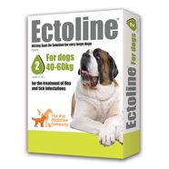 Ectoline 402mg spot on solution for very large dogs (for dogs 40-60kg)    £11.00