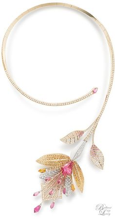 Fleur De Lotus Necklace  ~ Boucheron Paris