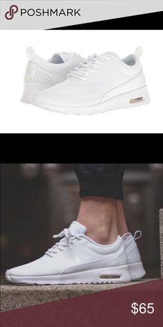 best sneakers 93308 f7170 Air Max Thea All-White size 5 Never worn Too small Willing to trade for any  size 6 sneakers No box Price not firm Nike Shoes Sneakers