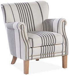 Best furniture collection for all styles – You make a house to be home with your furnitures Swivel Dining Chairs, Small Swivel Chair, Upholstered Chairs, Striped Room, Striped Chair, Accent Chairs Under 100, Small Accent Chairs, Inexpensive Furniture, Cheap Furniture
