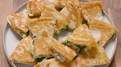 Spinach-Artichoke Quesadillas  - Delish.com