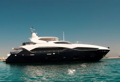 Some of the best toys to have is a yacht.