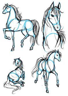 How to draw (Manga)Horses